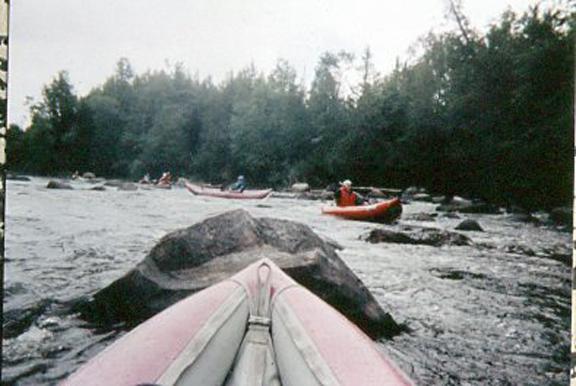 Canoe Float