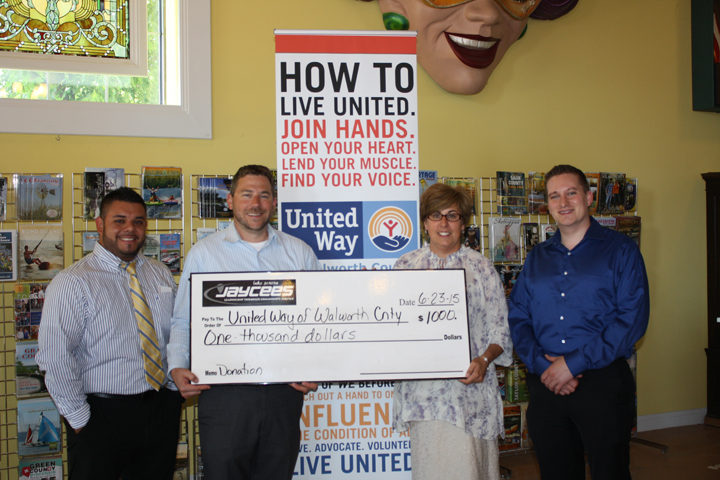 United Way of Walworth County Donation