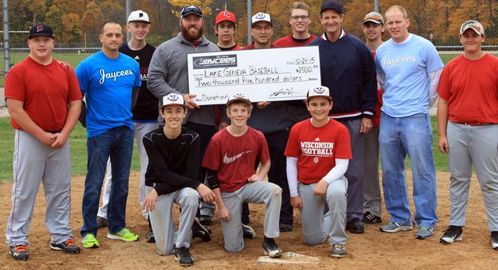 Lake Geneva Baseball Donation