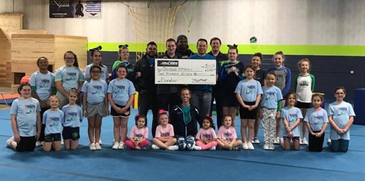 Lake Geneva Jaycees donate to local Cheer Club
